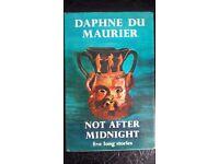 Daphne Du Maurier Not After Midnight hardback book 1972
