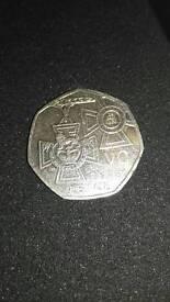 2016 50p coin