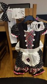 Girls Damaged Doll Costume 8-10yrs