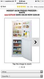 Brand new..Tall standing fridge freezer