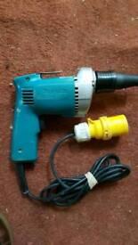 Brand new Makita screw gun 110v