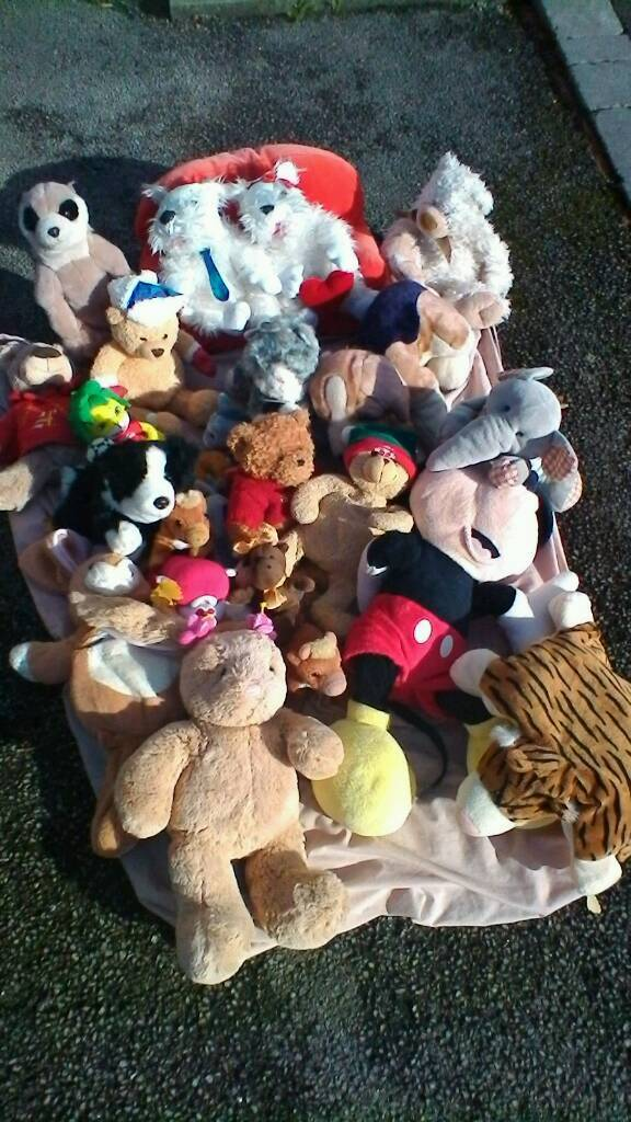 Cuddly toys for sale