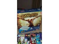 ps3 console super slim god of war special edition plus games
