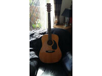 HOHNER JUMBO ACOUSTIC good condition, great sound.