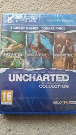 Uncharted The Nathan Drake Collection PS4 New