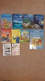 Childrens books - Usborne & Ladybird information books, very good condition, can be sold separately
