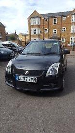 Suzuki Swift Sport 1.6l Petrol, Pearl Black, Parking Sensors