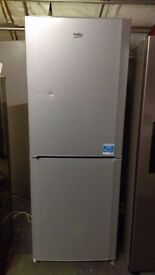 BEKO fridge freezer new ex display which may have minor dents marks or blemishes.