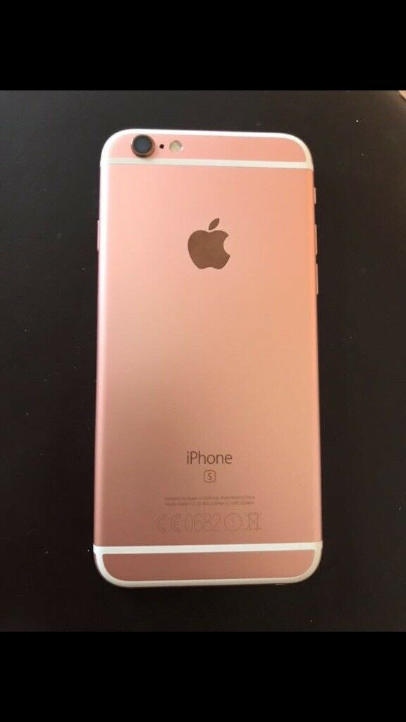 IPhone 6s rose gold on 02
