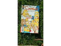 3 Simpsons comics