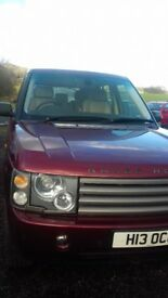 Range Rover Vogue Automatic 2.9 Diesel - For Parts - Gearbox issue - Private Plate