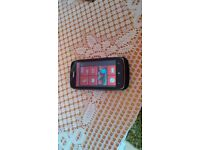 For sale we have a nokia lumia 610 windows phone