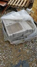 Brick slips for suspended floor