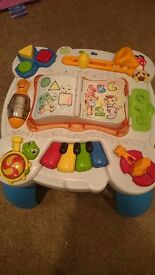 Leap frog activity stand play and learn