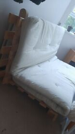 Wood Sofa-bed