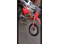 Honda CRF250 2015 Akropovic twin pipe ! Best on here