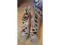 Miss Selfridge Heels Worn Once Size 5/6