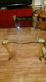 For Sale Thick Glass Stunning Coffee Tablevery Elegant