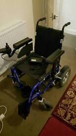 Electric Wheelchair Wheeltech Energi