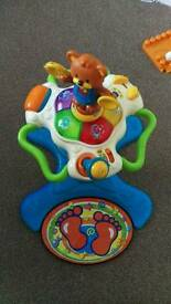 Dance and sing along toy