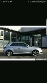 Pic a guideline. 5DOOR AUDI A3 S-LINE
