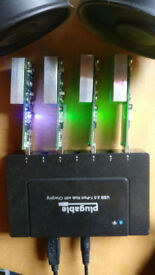 Gekkoscience 15ghs+ Bitcoin SHA256 USB Miner x4 Plus Hub