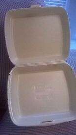 REDUCED!! LARGE FOOD BOXES