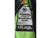 Superdry windtrekker xxl coat