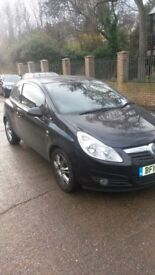Vauxhall Corsa for sale, very low milage, good condition