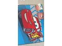 Disney Cars rug & pictures