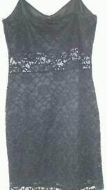 Black lace dress BNWT