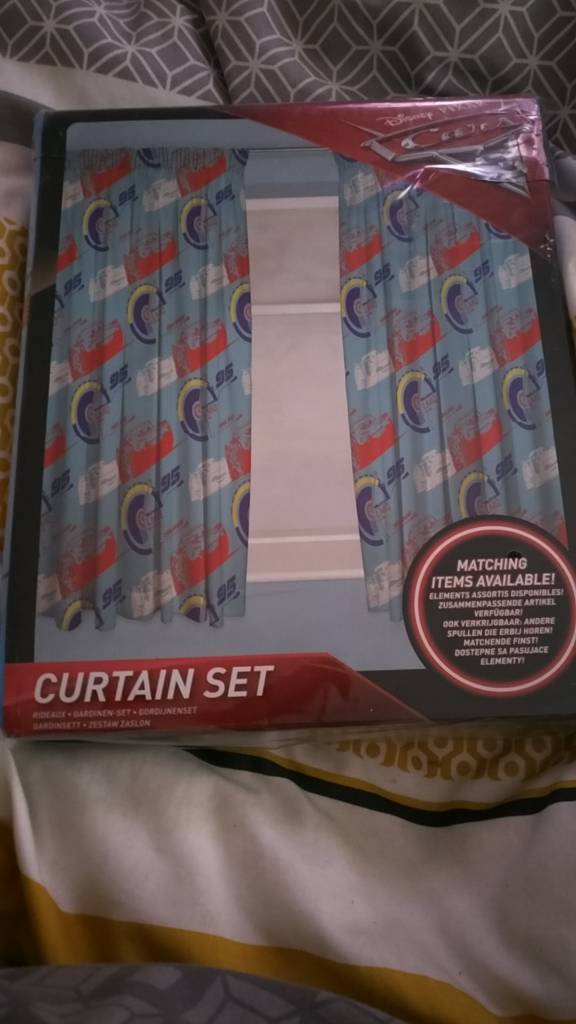 Lightning Mcqueen Curtains 66