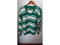 Handknitted men's jumpers- brand new
