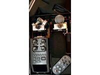 Zoom H6 portable recorder + accessories