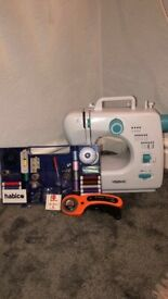 Sewing Machine - Boxed including Sewing Kit
