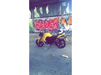 Sym Wolf 125cc Motorbike with Extras