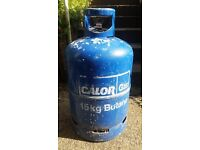 Calor gas butane bottle 15kg, empty