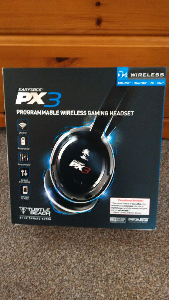 Turtle Beach PX3 Wireless Gaming Headset