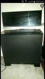 Sony cinema/cd player/dvd player