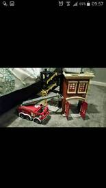 Imaginext firestation with accessories