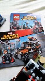 Lego DC Comics Sets 76053 - Gotham City Cycle & 76050 - Crossbone's Hazard Heist