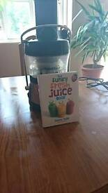 Fusion juicer and Jason Vale book