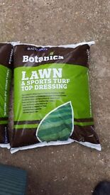 REDUCED 27% 'Top Dressing' Below Cost. Top Soil for Lawn & Sports Turf. 4 left Botanica Top Dressing