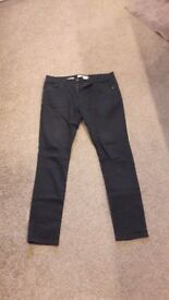 Excellent condition NEXT Super Skinny Mens Black Jeans - worn only twice!!!!