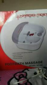 Footbath massage