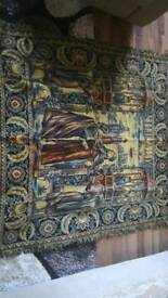 Tapestry wall antique