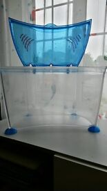 Plastic 14l fish tank with filter