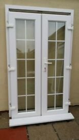 UPVC French / Patio Doors, VGC, 3 / 4 Years Old. ...