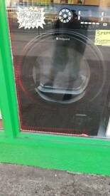 HOTPOINT BLACK 9KG CONDENSOR DRYER