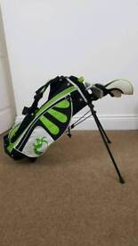 Woodworm Zoom Junior Golf Clubs & Bag Package age 6-8